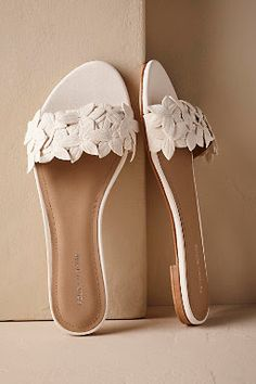 Complete your wedding day look with a pair of classic bridal shoes. BHLDN offers wedding heels that are as beautiful as they are comfortable, no matter your venue. Shop wedding shoes for the bride now! Shoes Flats Sandals, Sandals Outfit, Wedge Shoes, Shoe Boots, Heeled Sandals, Flat Sandals, Trendy Sandals, Shoes Sneakers, Bridal Shoes
