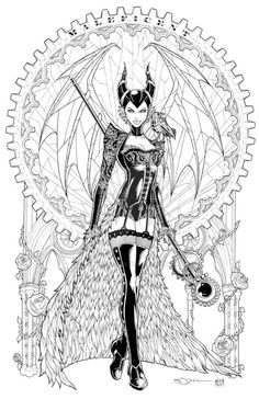 Maleficent Adult Coloring Pages. Also see the category to find . Read more Maleficent Adult Coloring Pages. Also see the category to find . Comic Art, Sketches, Character Art, Drawings, Designs Coloring Books, Devian Art, Art, Disney Coloring Pages, Steampunk Coloring