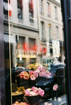 Flowers, Paris #analogic