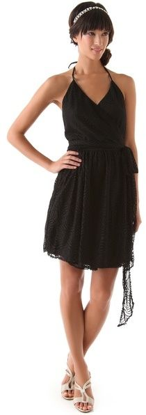 Joanna August Short Lace Dress - little black dress