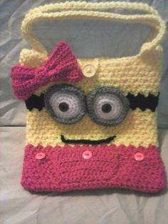 Little girls minion bag pattern on Craftsy.com