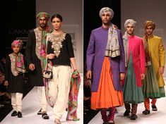 Sabyasachi's colour fantasy@ Lakme Fashion Week | WeddingSutra Editors Blog – WeddingSutra.com