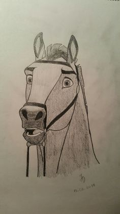58 ideas for simple art drawings disney animation Horse Drawings, Art Drawings Sketches, Cartoon Drawings, Animal Drawings, Pencil Drawings, Pencil Art, Drawing Art, Cute Disney Drawings, Cute Drawings