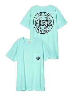 Campus Pocket Tee PINK SC-342-641 (3C4)