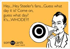 Free and Funny Sports Ecard: Hey.Guess what day it is? Come on, guess what day? Create and send your own custom Sports ecard. Ohio Is For Lovers, Misophonia, What Day Is It, Three Words, Cincinnati Bengals, Can't Stop Laughing, Ohio State Buckeyes, Laugh Out Loud, Hilarious