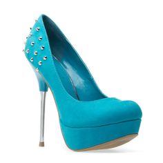 Candice high heels #summer #blue #aqua
