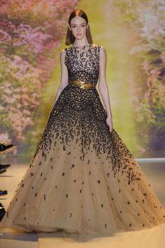 Stunning! She looks like a cheetah goddess - Zuhair Murad HC S'14 #nattygal #womensfashion