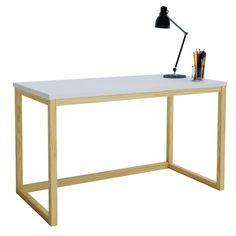 Skandynawskie biurko Inelo X3 - 100x50 cm w sklepie Edinos.pl