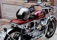 V35 by Ireful Moto #motoguzzi #guzzi #custombikes #caferacerxxx #caferacers