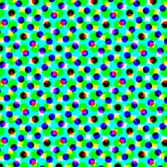 CMYK halftone dots - teal fabric by weavingmajor on Spoonflower - custom fabric