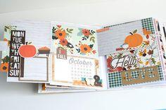 Crafty by AgnieszkaBe: Hey Little Magpie Scrapbook Albums, Scrapbooking, Fall Photos, Hello Autumn, Magpie, Hello Everyone, Mini Albums, Mini Scrapbooks, Crafty