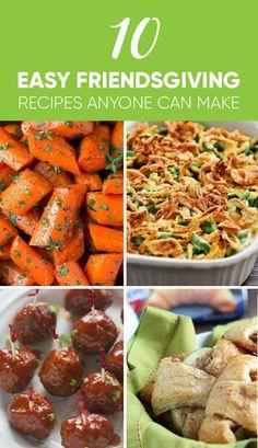 10 Easy Friendsgiving Recipes That Actually Taste Good - Society19