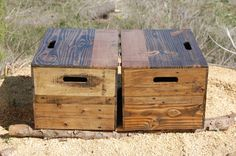 These versatile crates can be used as an End Table, Side Table or Bedside Table and offer a great storage solution as well...Looking for