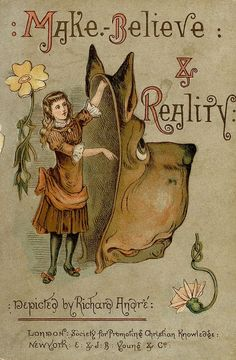 Make-Believe & Reality. Depicted by R. (Richard) André. London, Society for Promoting Christian Knowledge. New York, E. & J.B. Young & Co., 1884. First edition. This is the story of a group of...