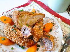 Baconbe göngyölt csirkemáj és kelkáposzta rántva gluténmentes http://mediterran.cafeblog.hu/2017/05/15/ezt-fald-fel-baconbe-gongyolt-ropogos-finomsagok/