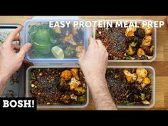 Easy Protein Meal Prep - BOSH!