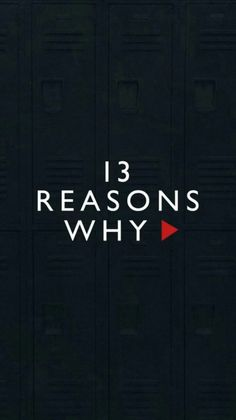 This was a brilliant series that, although I put off for a bit as I thought it was mainstream trash like big brother or something, I found that it was very intriguing and had a darker tone which made a nice change from what I regularly watch. 13 Reasons Why Reasons, 13 Reasons Why Netflix, Thirteen Reasons Why, 13 Reasons Why Poster, Netflix Series, Tv Series, Serie Du Moment, Welcome To Your Tape, Kpop Wallpaper