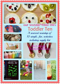 Our Wonderfilled Life: The Toddler Ten