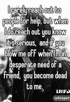 Not true for me. I figure the person is busy or may not want to talk to me at that moment. That's fine. However... the ball is now in your court. You have to reach or to me... or we will never talk again. But no hard feelings (you are still alive to me lol).
