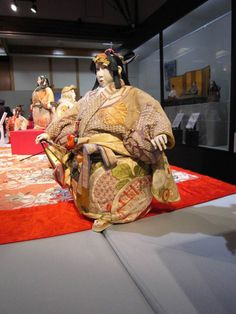 """It is a village doll exhibition now being held in Japan silk! World Tsujimura Toshikazu Collection of """"Jusaburo"""" creative dolls Picture 