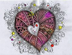 Love some of the patterns in the heart, really pretty, must try