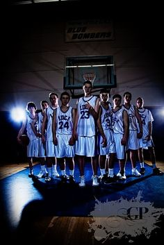 Basketball team portrait | Poster Ideas | Pinterest