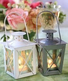 Luminous Mini-Lantern Wedding Favors from Wedding Favors Unlimited