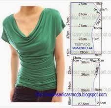 Risultati immagini per cartamodello blusa gratis