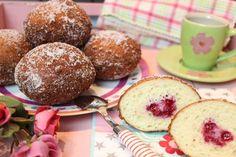 Low Carb Rezepte von Happy Carb:  Kreppel - Kreppel, Krapfen oder Berliner Pfannkuchen. Viele Namen und doch das gleiche Low Carb Backwerk.