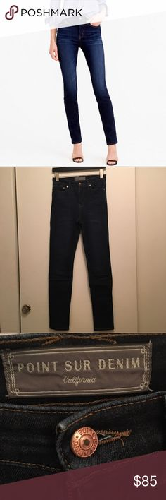 Jcrew Point Sur hightower skinny jean Drifter wash I have two identical pairs to sell. Good condition. Still current on jcrew site for $198. J. Crew Jeans Skinny