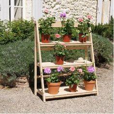 Superb Very Pretty. Geranuim Garden Shelves By Rochelle Greayer  Www.studiogblog.com | Design And Decor | Pinterest | Garden Shelves,  Gardens And Garden Ideas