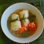 How to Make Amazing Soup (aka Vietnamese Cabbage Leaf Parcels with Shrimp Mousse in Broth)
