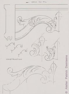 1000 images about feuille d 39 acanthe on pinterest - Feuille d acanthe ...