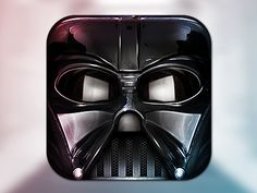 Darth Vader Icon by Michael Flarup