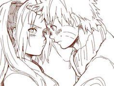 Yet, naruto did not have parents while she did. Nor Sakura was seen as an outsider/ hated/ feae by his village. Nor really loss a close love one. Naruto Uzumaki, Anime Naruto, Naruhina, Naruto And Sasuke, Naruto E Sakura, Manga Anime, Shikatema, Narusaku, Fanarts Anime