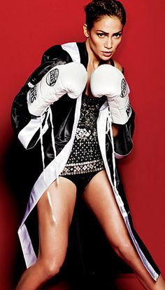 Jennifer Lopez for V Magazine //  Photoshopped, perhaps?  Either way, she still looks good.