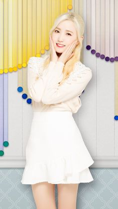 Cute Korean Girl, Kpop Girls, Yuri, Anime Cosplay, White Dress, Female, Superstar, Dresses, Honda