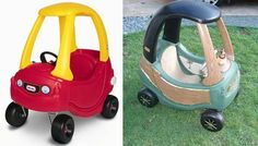 Look!  Little Tikes Car Makeovers