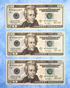 I received sequential bills at an ATM. Make Money From Home, How To Make Money, Money Bill, Goulash Recipes, 100 Dollar, Extra Money, Instant Pot, Personalized Items, Paper