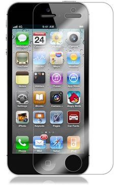 Skinomi TechSkin - Apple iPhone 5 Screen Protector Ultra Clear Shield, AT, Sprint, Verizon Wireless for only $5.95