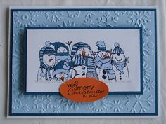 Holiday Lineup Little Fellows by stamp my day - Cards and Paper Crafts at Splitcoaststampers