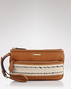 Bohemian Flair, Burberry Wristlet - Leather Rope Fuller