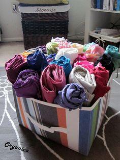 storage bin box for hijabs