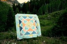 Free Palisades Quilt Pattern from the Fat Quarter Shop