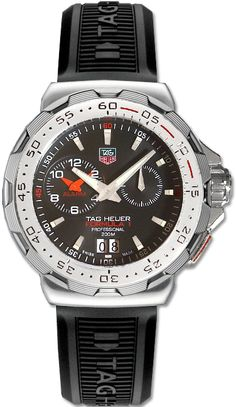TAG Heuer Mens Formula 1 Indy 500 Black Dial Watch >>> Find out more about the great product at the image link. Mens Designer Watches, Luxury Watches For Men, 200m, Sport Watches, Cool Watches, Casual Watches, Tag Heuer Formula, Fossil Watches, Men's Watches