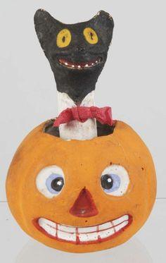 Vintage - Halloween Jack-o-Lantern