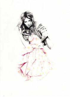 Nabil Nezzar fashion illustration