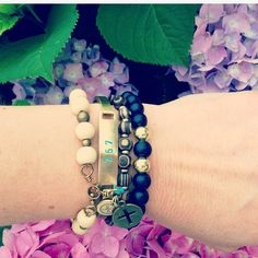 OUR CHARMS SWIVEL• arm charms • arm candy