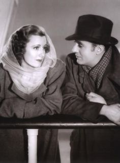 Irene Dunne and Charles Boyer - Love Affair, 1939, this is probably a little better than an affair to remember