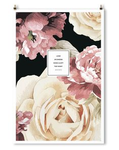 This floral ode to Keats. | 27 Impossibly Lovely Literary Prints